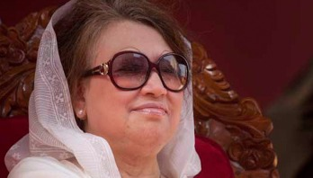 Khaleda Zia flies for London tonight