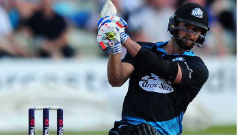 Whiteley makes history with six sixes