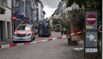 5 hurt in Swiss chainsaw attack