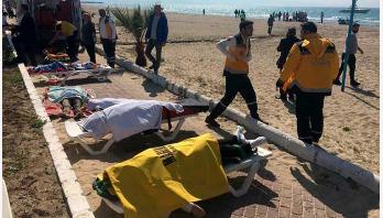 11 drown as boat capsizes in Aegean Sea