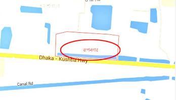 রাজধানীর রূপনগরে ব্লক রেইড