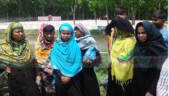 গোপালগঞ্জে সন্দেহভাজন ৬ নারী আটক