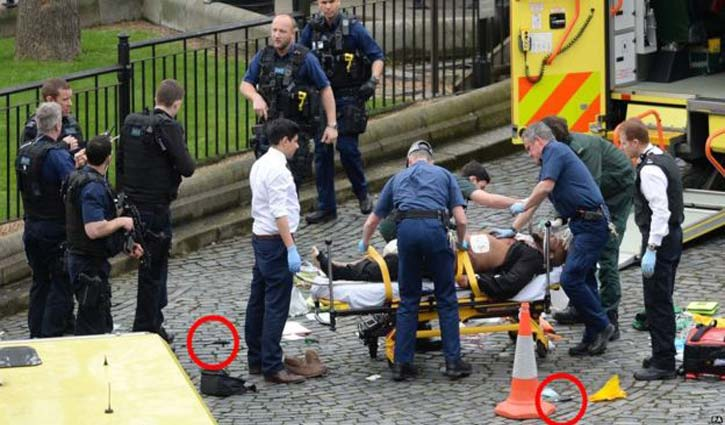 Westminster attack: 6 killed outside UK parliament