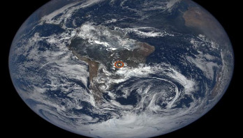 Satellite captures strange glints coming from Earth