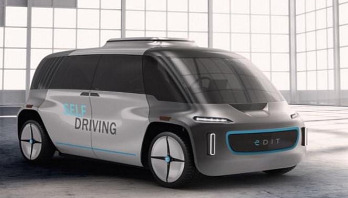 World's first modular self-driving car