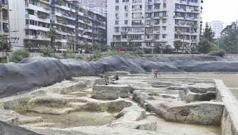 Ancient Chinese temple uncovered after 1,000 years