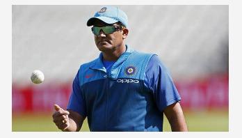 Anil Kumble steps down as India coach