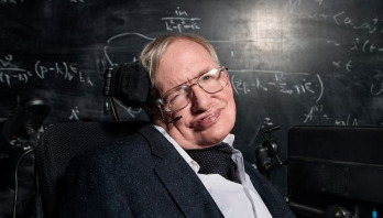 Hawking urges Moon landing to 'elevate humanity'