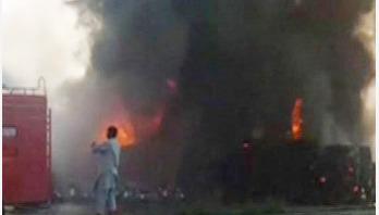 123 killed as oil tanker explodes in Pakistan