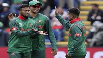 Bangladesh need 266 to win against New Zealand