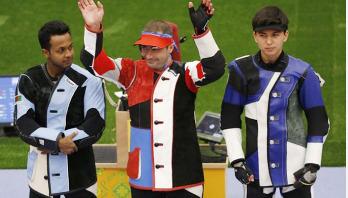 Bangladesh shooter wins silver