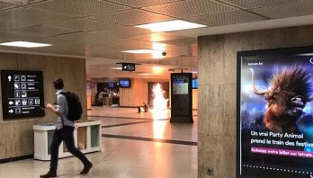 Belgium probes station bomber fatally shot by soldiers