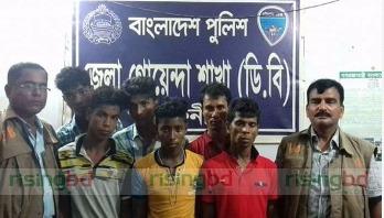 Six snatchers arrested in Feni