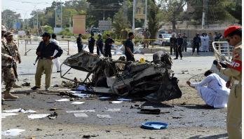 Blasts, shootings claim 54 lives across Pakistan