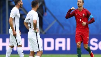Ronaldo preserves remarkable record