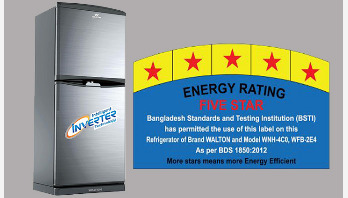 Walton refrigerators get 5-Star rating on energy efficiency