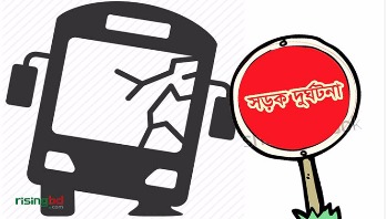 Bus-Truck collision kills 2 in Bogra