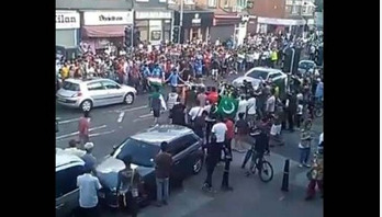Indo-Pak fans lock into clash after cricket match