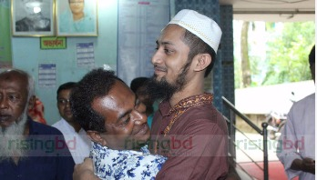 Abducted physician Iqbal returns home