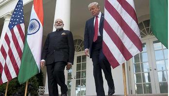 Modi, Trump meet: No questions allowed at media briefing