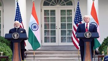 Trump-Modi warn Pakistan over terrorism