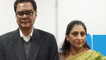 Syed Ashraf's wife Shila no more