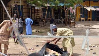 Suicide bombers kill 16 in Nigeria