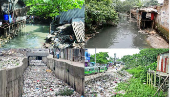 Recover city canals to save Dhaka