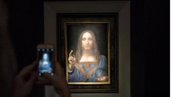 'Da Vinci artwork' sells for record $450m