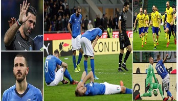 Italy to miss WC-2018 for 1st time since 1958