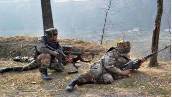 Six terrorists gunned down in Kashmir