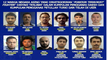 Bangladeshi among 45 foreign terrorist fighters held in Malaysia