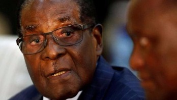 Mugabe removed as WHO goodwill envoy