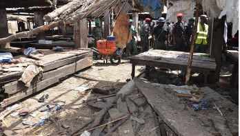 Suicide bombing kills 13 in Nigeria