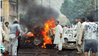 পাকিস্তানে বোমা বিস্ফোরণে ৭ পুলিশ নিহত