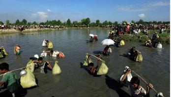 Thousands of new Rohingyas enter Bangladesh