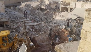 Air raids kill 43 civilians in Syria's Aleppo
