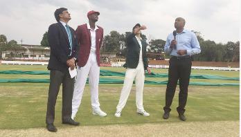 ১৪ বছর পর জিম্বাবুয়েতে টেস্ট খেলছে উইন্ডিজ