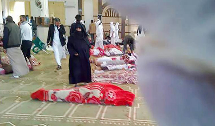 Death toll from Egypt mosque attack climbs to 235
