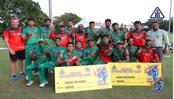 Bangladesh thrash Malaysia by 262 runs