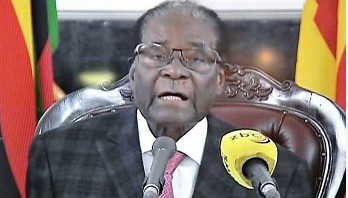 No resignation as Mugabe addresses nation