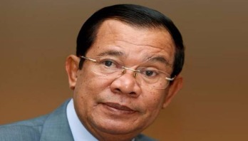 Cambodia PM challenges US to cut all aid