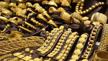 Gold price falls in local market