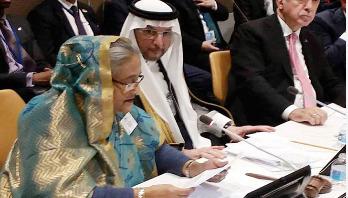 Sheikh Hasina places six proposals to resolve Rohingya crisis