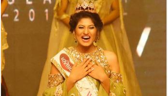 Jannatul Nayeem crowned Miss World Bangladesh-2017
