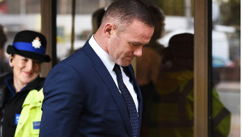 Rooney banned from driving for two years