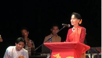 Myanmar's Suu Kyi addresses nation over Rohingya crisis