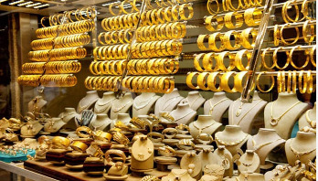 Gold prices down again