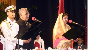 Abdul Hamid takes oath as President for 2nd consecutive term