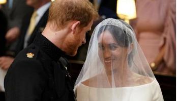 Harry, Meghan proclaimed husband-wife